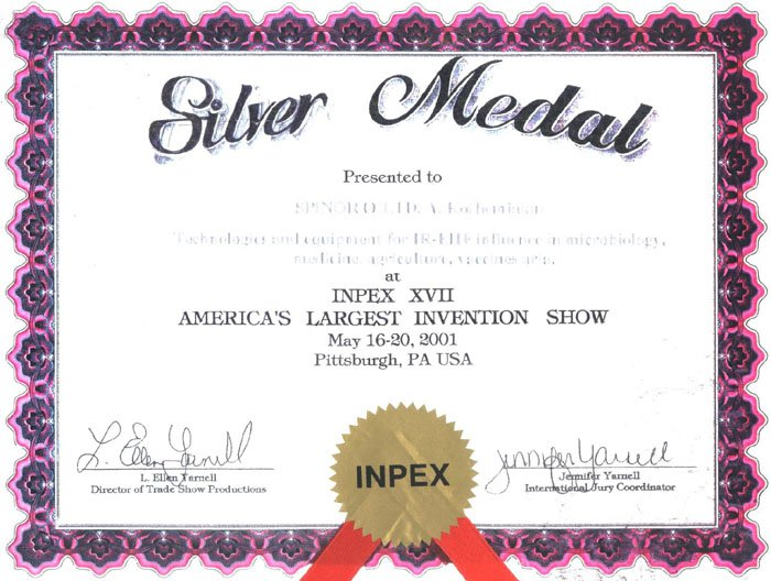 Silver medal exhibition in Pittsburgh